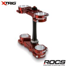 Xtrig ROCS Pro Triple Clamp Set Yamaha YZF250 12-16 YZF450 10-15 (OS 20-22mm) M12